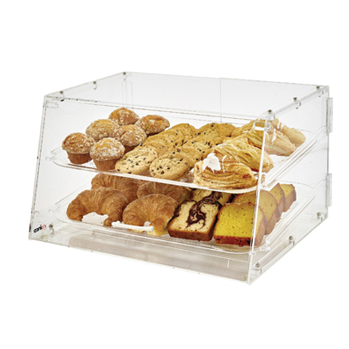 "Winco ADC-2 Display Case, 21"" x 18"" x 12""H, counter-top"
