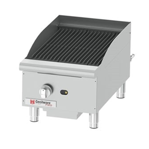 Cecilware CCP15 Charbroiler, gas, counter model