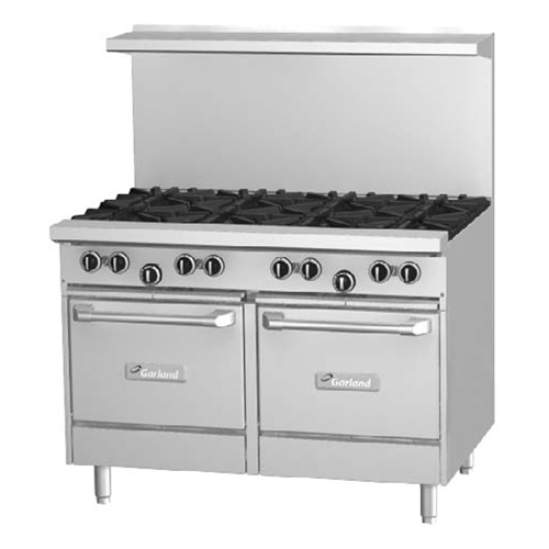 Garland G48-8RS Starfire 8 Burner Range With 1 Standard Oven
