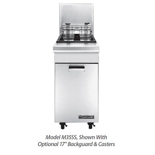 "Garland M35SS 17""W Master Series Fryer, gas"