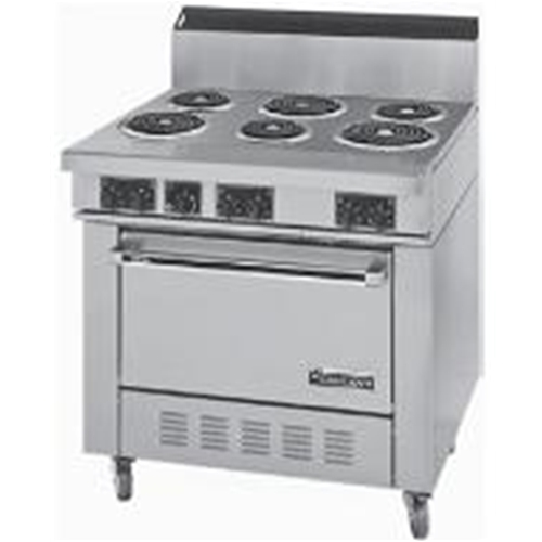 Garland S686 Sentry 6 Tubular Element Range With Standard Oven