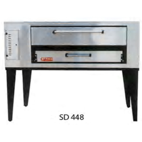 "Marsal and Sons SD-448 Marsal 65""L Pizza Oven, Deck Type, gas, (1) 8""H x 36"" x 48"" baking chamber"