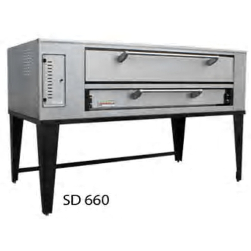 "Marsal and Sons SD-660 Marsal 80""L Pizza Oven, Deck Type, gas, (1) 8""H x 36"" x 60"" baking chamber"